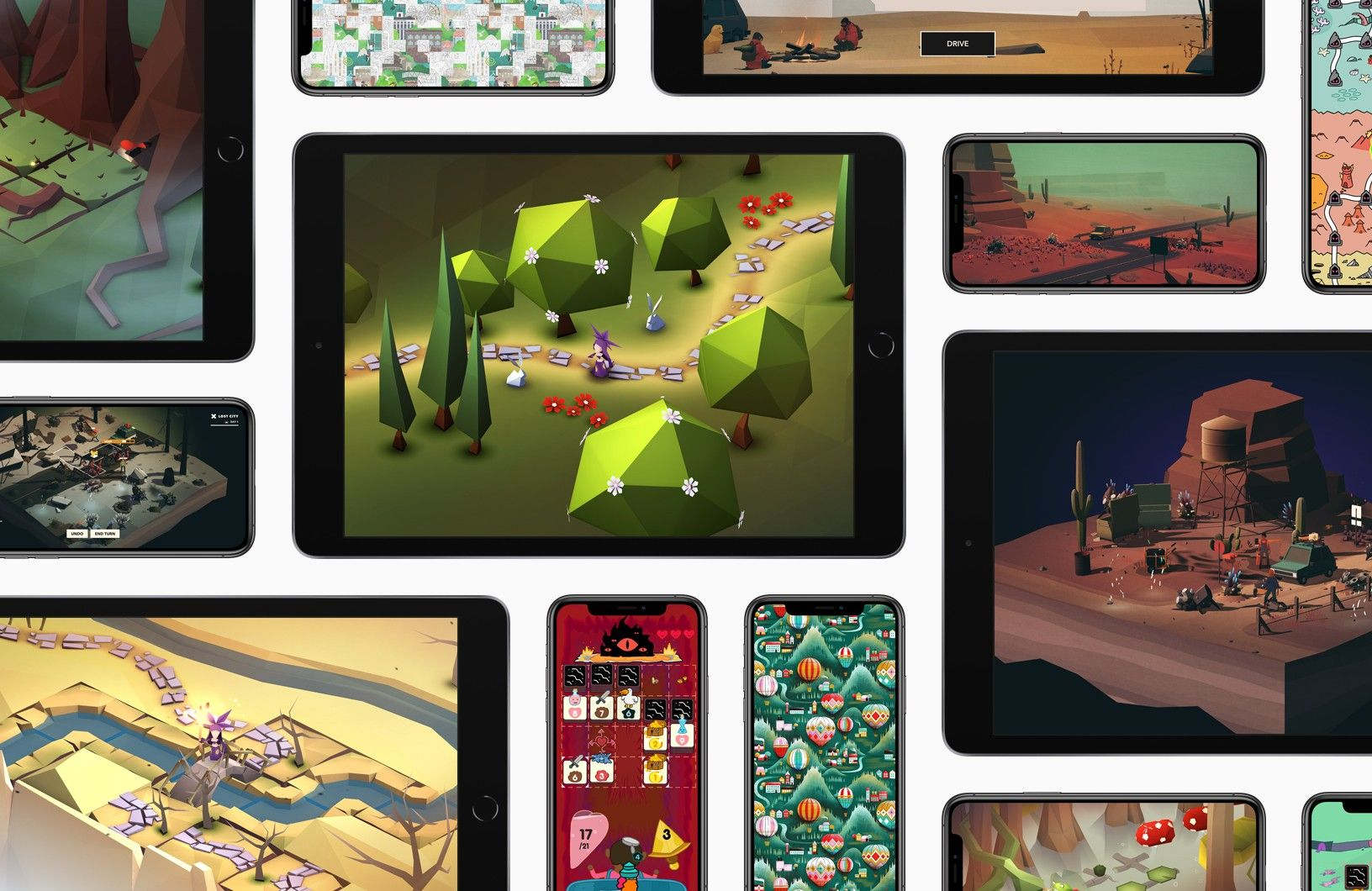 Apple Arcade Collage
