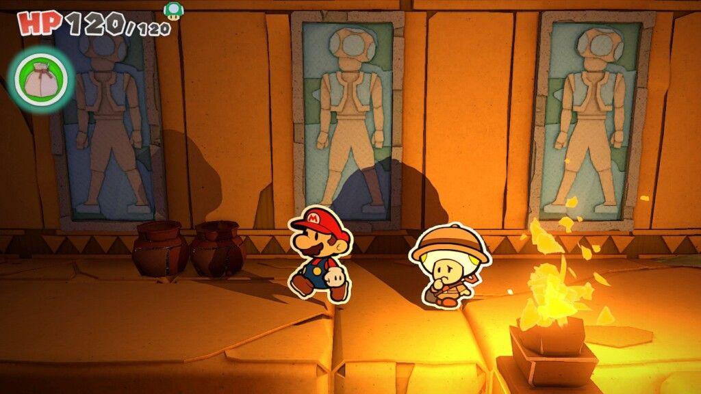 Paper Mario: creepy crypt