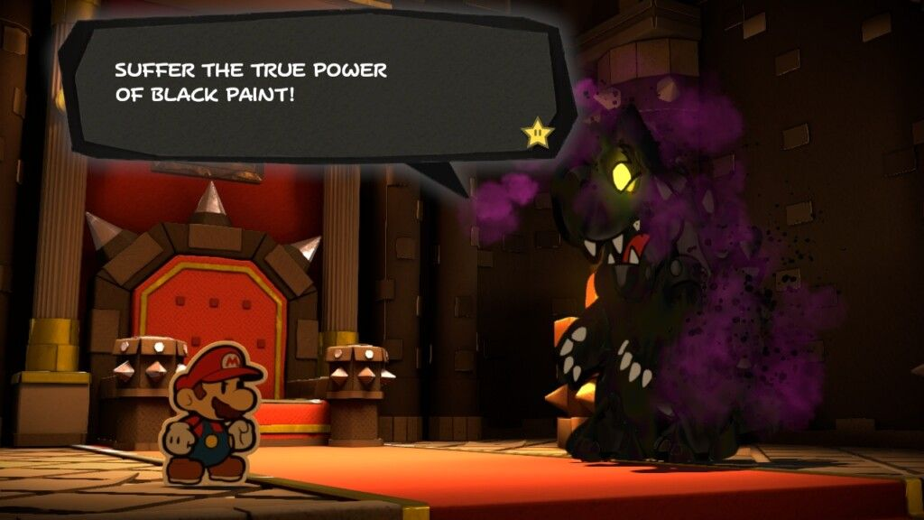 Mario vs Black Paint Bowser, or Nintendo vs Mario fans?