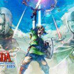 Link raising his sword skyward